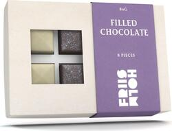 Friis Holm Filled Chocolate, 8 stk, 80 g