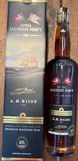 A H Riise Royal Danish Navy Rum