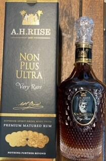 A H Riise Non Plus Ultra very rare rum