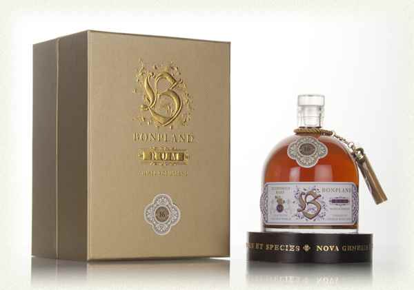 Bonpland rum 23 years old Guyana 1993 50% alc. 50cl..