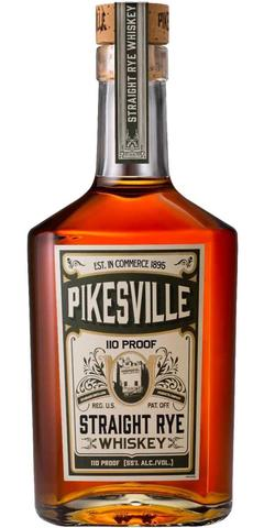Pikesville Straight Rye Whiskey 110 Proof