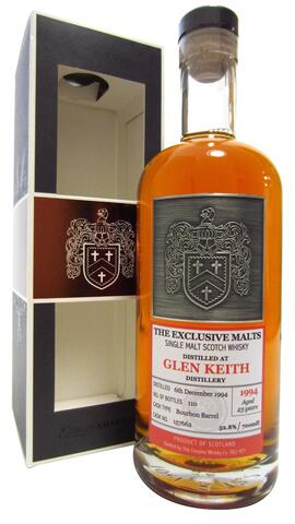 Glen Keith - The Exclusive Malts Single Cask #157662 - 1994 23 year old