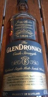 Glendronach Cask Strength Batch 8 Single Highland Malt Whisky 61%