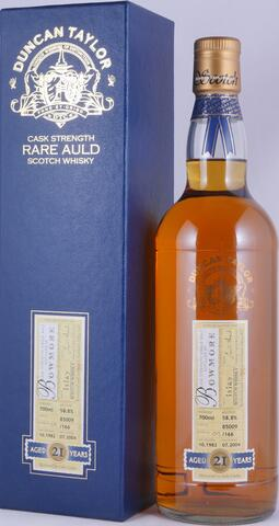 1982 Bowmore 21 Years Oak Cask 85002 Duncan Taylor Cask Strength Rare Auld Edition Islay
