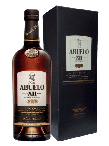 ABUELO XII TWO OAKS 40% 70CL - ROM FRA PANAMA