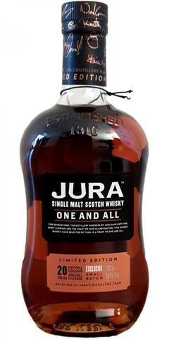 ISLE OF JURA ONE FOR YOU 18 ÅR SINGLE JURA MALT WHISKY 52,5%