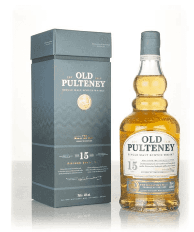 Old Pulteney 15 år Whisky