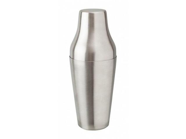French shaker in steel 65 cl.