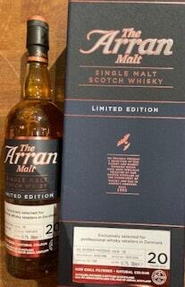 Arran 1998/2018 Limited Edition 20 års single island