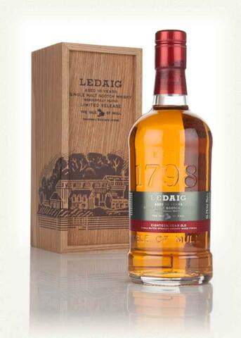 Ledaig 18 years old spanish sherry wood finish 46,3% alc.