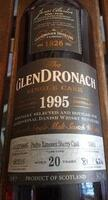 Glendronach 1995 #5401 P.X. Sherry Punchon 20 years old Highland Single Malt Whisky 54,1%