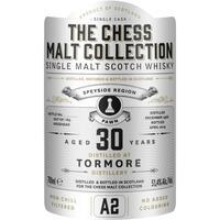 The Chess Malt Collection A2 Tormore 30 years old Speyside Single Malt Whisky, 51,4%