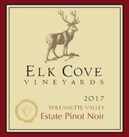 Elk Cove vineyards Pinot Noir Willamette Valley Oregon 2017