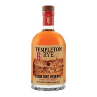Templeton Rye Bourbon 6 Years Old