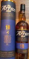Arran destillery 18 års single malt whisky