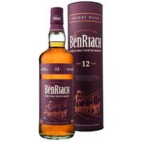 BenRiach 12 års Sherry wood single malt 46%
