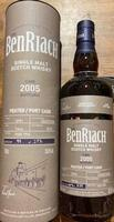 BenRiach 2005/2019 peated port cask 14 år Single Highland Malt Whisky 55,3%