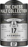 The Chess Malt Collection G7 Ardmore 17 års Single Malt Highland Whisky 59,7%